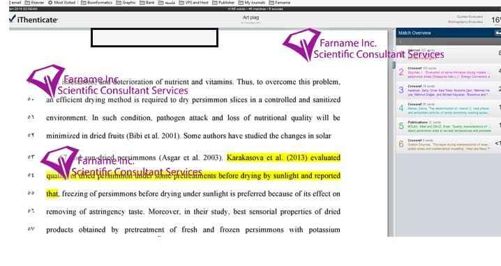 سرقت ادبی مقاله علمی